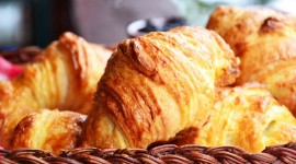 Homemade Croissants Wallpaper For PC