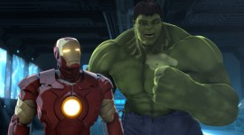 Iron Man & Hulk Heroes United Wallpaper For PC