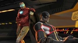 Iron Man & Hulk Heroes United Wallpaper Free