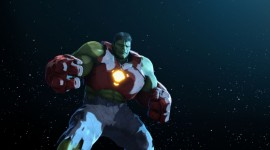 Iron Man & Hulk Heroes United Wallpaper#4