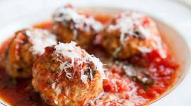 Meatballs In Tomato Sauce High Quality Wallpaper