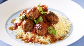 Meatballs In Tomato Sauce Wallpaper
