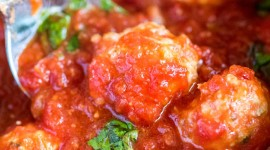 Meatballs In Tomato Sauce Wallpaper For IPhone