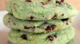 Mint Biscuits Wallpaper For IPhone