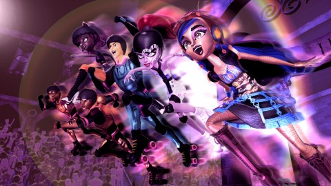 Monster High Friday Night Frights wallpapers high quality