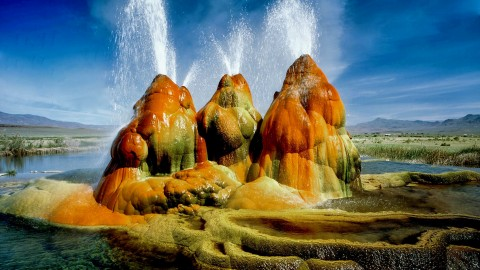 Nevada Geyser wallpapers high quality