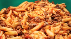 Pasta With Meat Wallpaper For PC
