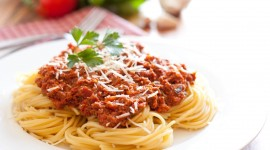 Pasta With Meat Wallpaper Gallery