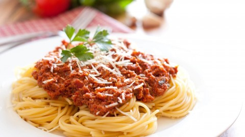 Pasta With Meat wallpapers high quality