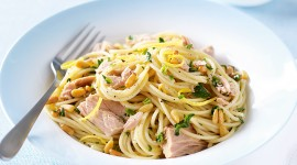 Pasta With Tuna Desktop Wallpaper HD