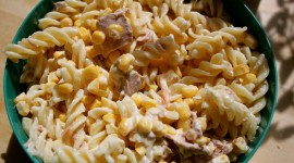 Pasta With Tuna Wallpaper Download