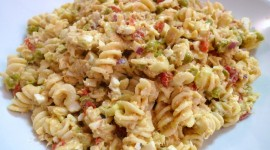 Pasta With Tuna Wallpaper Download Free