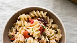 Pasta With Tuna Wallpaper For IPhone Download
