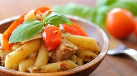 Pasta With Tuna Wallpaper Free