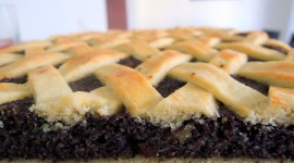 Pie With Poppy Seeds Wallpaper