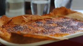 Pie With Poppy Seeds Wallpaper Download Free
