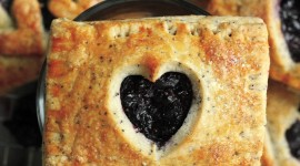 Pie With Poppy Seeds Wallpaper For IPhone Download