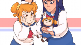 Pop Team Epic Wallpaper For Mobile