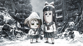 Pop Team Epic Wallpaper For PC