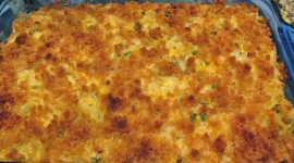 Potato Casserole Wallpaper Background