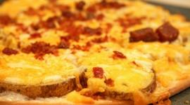 Potato Pizza Wallpaper Full HD