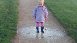 Puddles Wallpaper For IPhone Free