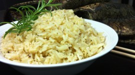 Rice With Garlic Wallpaper Download