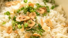 Rice With Garlic Wallpaper For IPhone Download