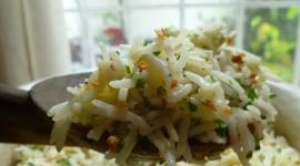 Rice With Garlic Wallpaper Free
