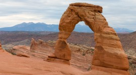 Rock Arch Desktop Wallpaper