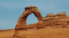Rock Arch Desktop Wallpaper For PC