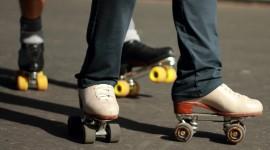 Roller Skates Wallpaper