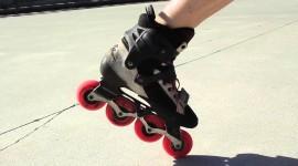 Roller Skates Wallpaper Background