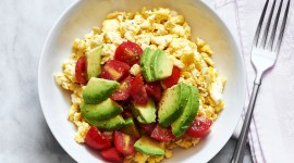 Scrambled Eggs In Tomatoes Wallpaper Gallery