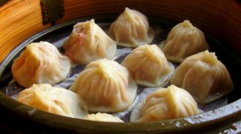 Shanghai Dumplings Photo Free#1