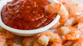 Shrimp In Sauce Wallpaper For Desktop