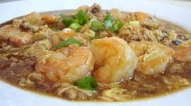 Shrimp In Sauce Wallpaper Free