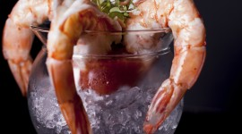 Shrimp In Sauce Wallpaper High Definition