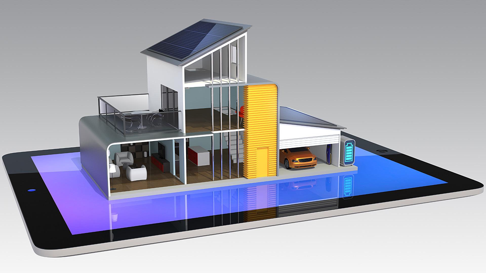 Smart Home Automation Smartphone