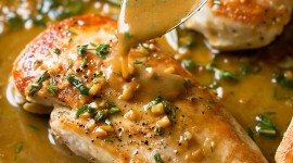 Sour-Garlic Sauce With Herbs Wallpaper Download Free