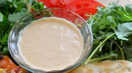 Sour-Garlic Sauce With Herbs Wallpaper For PC