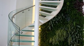 Spiral Staircase Wallpaper