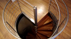 Spiral Staircase Wallpaper Background