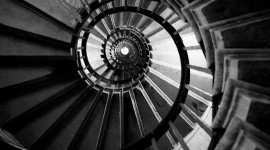 Spiral Staircase Wallpaper Download Free