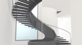 Spiral Staircase Wallpaper High Definition