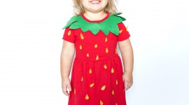 Strawberry Costume Wallpaper For Android#1