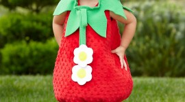 Strawberry Costume Wallpaper For Mobile