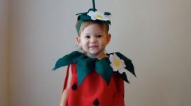Strawberry Costume Wallpaper Free