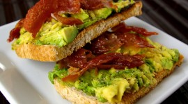 Toasts With Avocado Wallpaper Full HD