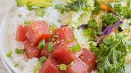 Tuna Ahi Poke Wallpaper For Mobile